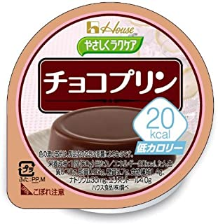 ハウス食品 やさしくラクケア 20kcal チョコプリン 60g×12個