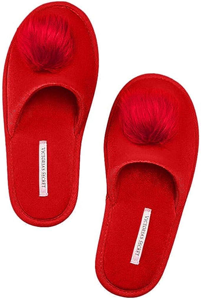 Victoria's Secret Women's Pom Pom Pretty Slippers