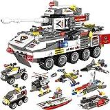 932 Pieces Tank Building Blocks Set, Military Army...