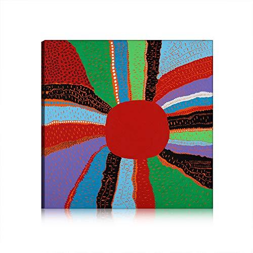 Yayoi Kusama Callum Innes Pittura Tela Stampa di Arte della Parete Pittura Immagini per Living Room Decor Unstretched (Art 7,100x160 cm)