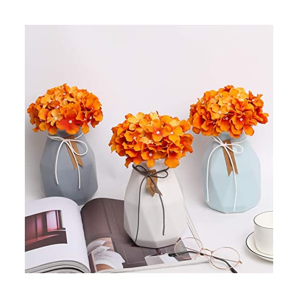 Veryhome 1piezas Hortensia Artificial Flores Hortensia de Seda Fake Hydrangea Bunch Arreglos Wedding Garden Home Party…