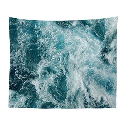 YYRAIN Tapicería Nórdica Paño De Pared Tapiz De Tela Mural De Playa Tapiz De Fondo De Pared 130x150cm(Thicken) C