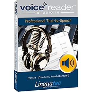 Voice Reader Studio 15 Français (Canadien) / French (Canadian) - Professional Text-to-Speech Software:Shizuku7148