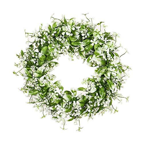 Styleinside Ghirlanda di fiori artificiali da appendere per porta, ghirlanda da parete, decorazione per la casa e per matrimoni