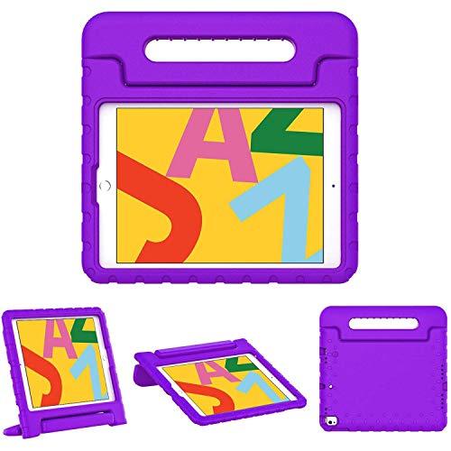 iMoshion iPad 10.2 (2019) Tablet Case with Handle - Purple