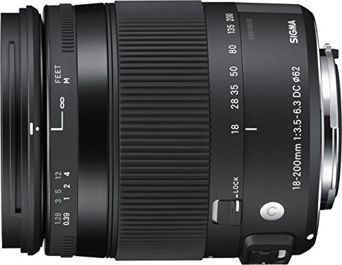 Sigma 18-200mm F3.5-6.3 Contemporary DC Macro OS HSM Lens for Nikon