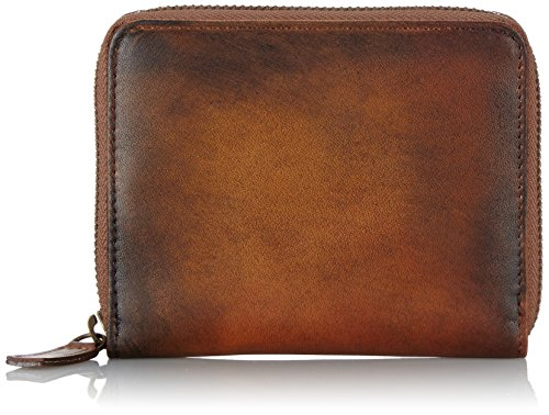 JOST 2474-007 Herren Geldbörsen, Braun (Cognac)