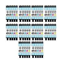 インクのチップス キャノン用 BCI-381 BCI-380 大容量リサイクルインク 5色セット×10 全50本 BCI-381+380/5MP