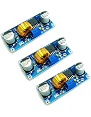 HiLetgo 3pcs XL4015 DC-DC Buck Converter Step Down Module 4~38V to 1.25-36V 5A DC-DC Adjustable Step-down Module XL4015 4~38v 96%