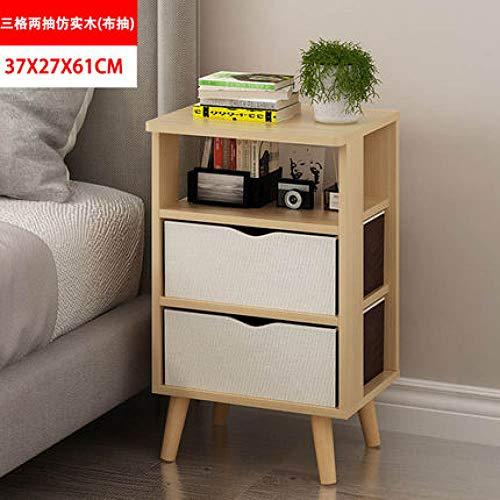 Nachtkastje LKU Nordic creative modern houten nachtkastje salontafel nachtkastje nachtkastje nachtkastje, C12