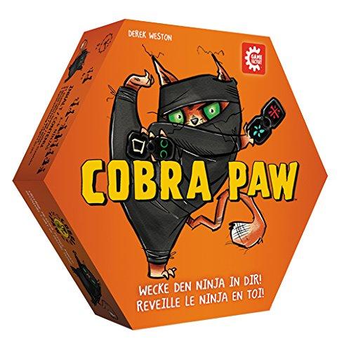 Game Factory 646210 Cobra Paw, superschnelles Reaktionsspiel in außergewöhnlicher Optik, Familienspiel, Spiel für Kinder ab 6 Jahren