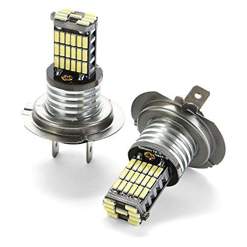 CICMOD 2X 1000 Lumen CANBUS Ampoule de Feux Anti-Brouillard H7 45 * 4014 SMD LED Xénon Blanc 6000K
