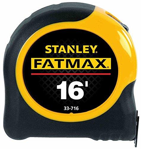 Stanley Hand Tools 33-716 16' FatMax Blade Armor Coating Tape Rule
