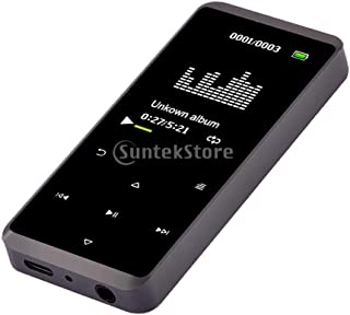 kesoto Bluetooth Touch Screen Mp3 Music Player Support Tf Card Gray