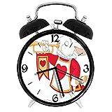 BeeTheOnly Exquisito Reloj Despertador Alicia en el país de