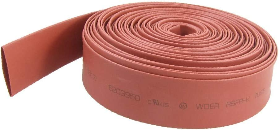 Selling rankings Inventory cleanup selling sale X-DREE Red 17mm Dia Polyolefin 10 Heat Shrinkable Sleeving Tube