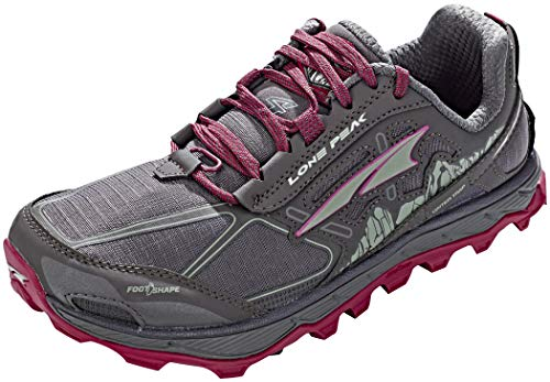 ALTRA Women's AFW1855F Lone Peak 4.0 Trail Running Shoe, Raspberry - 8.5 B(M) US
