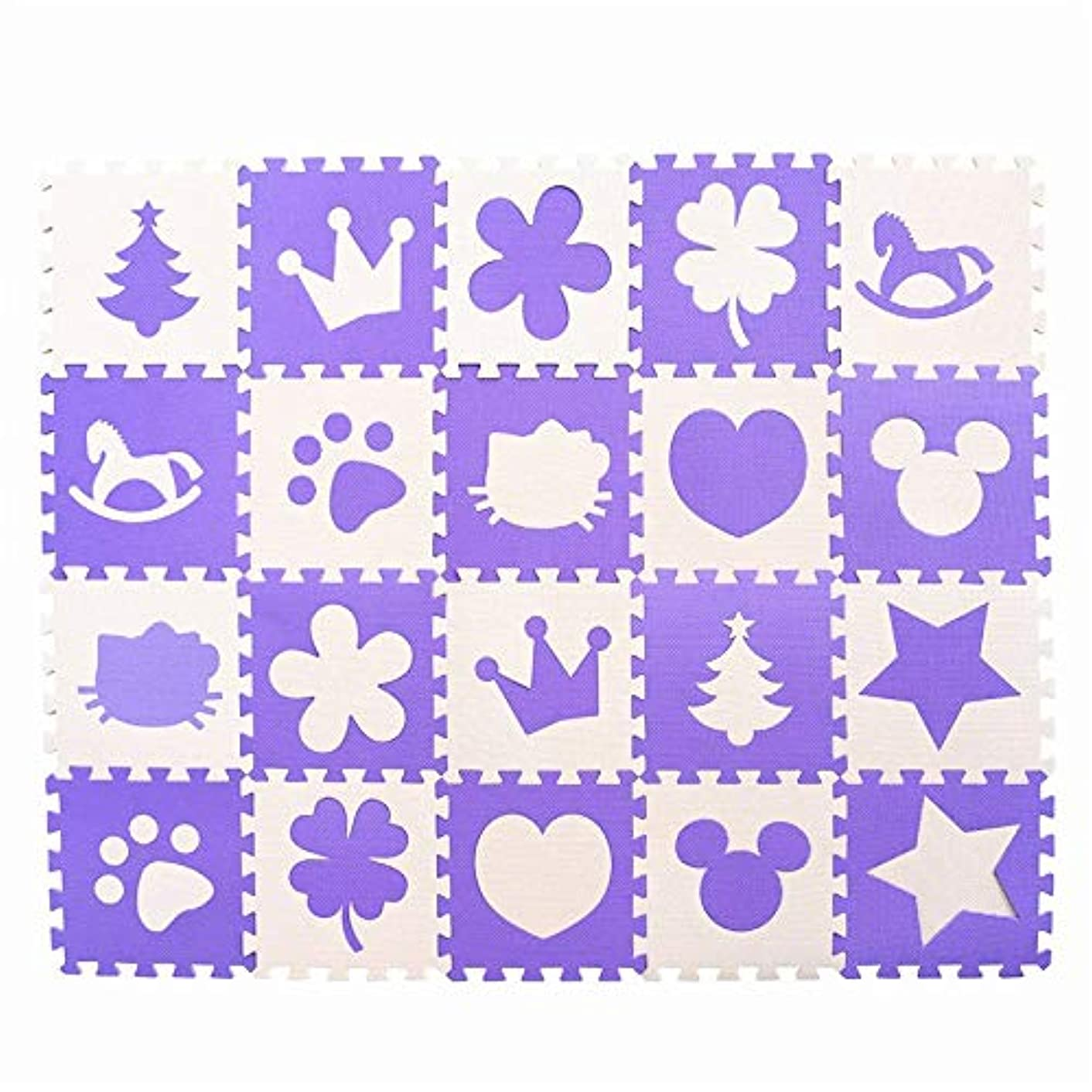 Play Mats - Children's Soft Developing Crawling Rugs,Baby Play Puzzle Number/Letter/Cartoon eva Foam mat,pad Floor for Baby Games - by ADAMLUCASTORE - 1 PCs