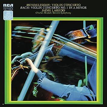 Mendelssohn: Violin Concerto in E Minor, Op. 64 - Bach: Violin Concerto in A Minor, BWV 1041