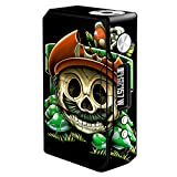 Skin Decal Vinyl Wrap for Voopoo Drag 157W TC Resin/Reg. Vape Mod Stickers Skins Cover/Gangster Mario face