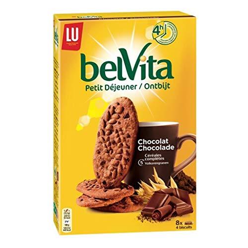 Lu Belvita Petit à © Fasten Schokolade 5 Cã © à © Ales Complètes 400G (6er-Set)