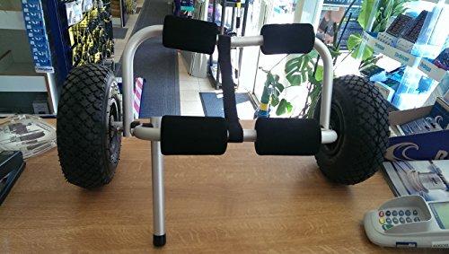 Kajak Transport Trolley mit Befestigungsband bis 60 kg