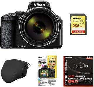 Nikon デジタルカメラ COOLPIX P950 ブラック クールピクス P950 + アクセサリー6点(SDカード、液晶保護フィルム、カメラケース、レンズフィルター、レンズクリーニングティッシュ、三脚)