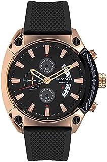 Lee Cooper Men'S Chronograph Black Dial Watch Lc07063.451