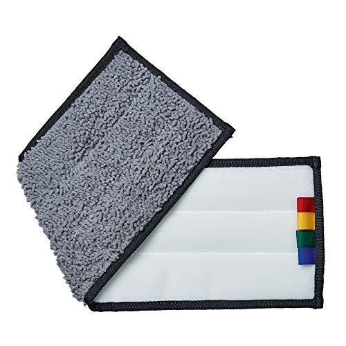 Unger Wischbezug Reinigungsmopp erGO (Farbe grau, Größe 40 cm, 1 Stück, 100% Polyester, Klett-Mopp für Fliesen, Parkett, PVC…) FAVMC
