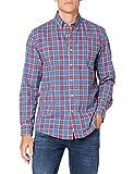 Cortefiel Tartan, Camisa casual para Hombre, Multicolor (Lilac), Small