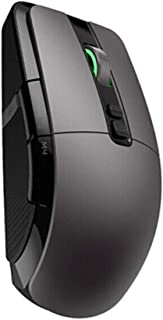 MINHUISHANGMAO Mouse, Wireless Mouse, Computer Accessories, Games, Office, Laptop, Desktop Computer,Black (Color : Black, ...