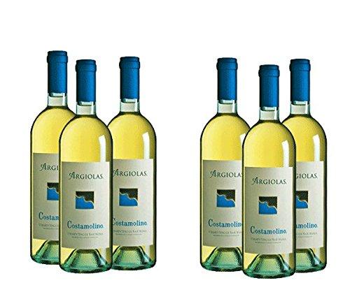 Cassa da 6 bottiglie di Vermentino Costamolino cl.75