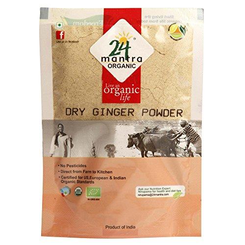 24 Mantara 24 Mantra Organic Dry Ginger Powder - 7 Ounce ,, ()