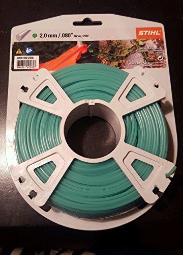 Stihl rund 2,0 mm x 60,0 m Mähfaden, grün