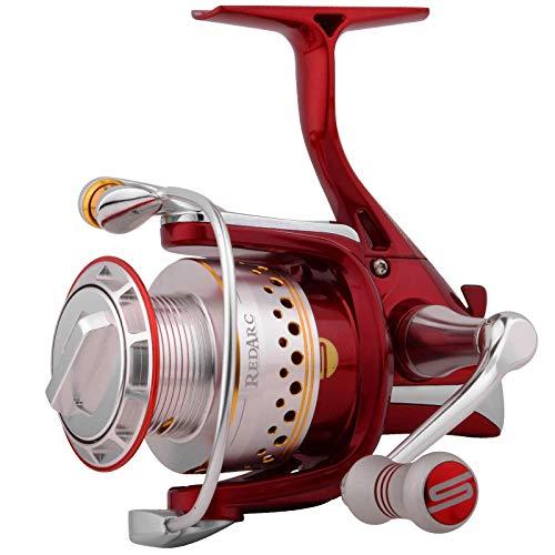 Spro RedArc 4000 Stationärrolle, Angelrolle zum Spinnfischen auf Hechte & Zander, Hechtrolle, Zanderrolle, Spinnrolle, Rolle
