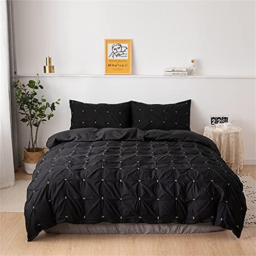 Ropa De Cama Textiles para El Hogar Funda Nórdica De Color Puro Cómoda Suave Y Duradera Fácil De Limpiar 180x210cm