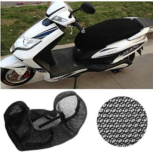 WDGXZM Funda de Asiento de Red para Scooter de Motocicleta de 51x86 cm Transpirable,para Hyosung Gt125 125r 250p 250r 650p 650r 125c Rt125d St7 X-5 Eva