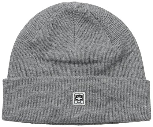 Obey ACCESSORI Cappello Eighty Nine Beanie 100030072 (OS - Heather Grey)