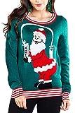 Weihnachtsmann Gießen Milch Christmas Pullover