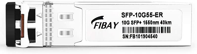10G SFP ER for Cisco SFP-10G-ER 10GBASE-ER SFP+ Module Transceiver SMF, 1550nm, 40km, LC, DOM