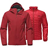 The North Face Thermoball Triclimate Jacket - Men's (XX-Large, Cardinal Red)