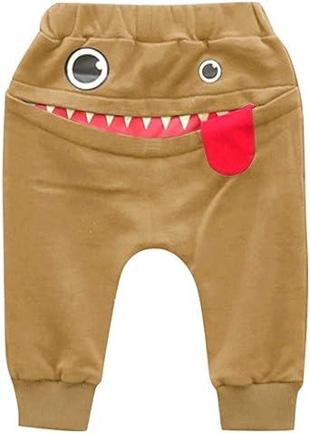 Baby Kinder Kinder Jungen M/ädchen Cartoon Shark Zunge Harem Hosen Hosen Hosen f/ür 0-3 Jahre i-uend Baby Pants
