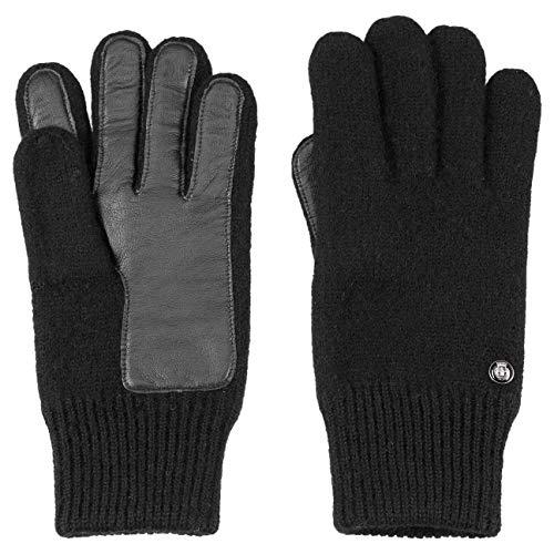 Roeckl Gants en Laine Foulee gants pour homme gants pour l'hiver (8 1/2 HS - noir)