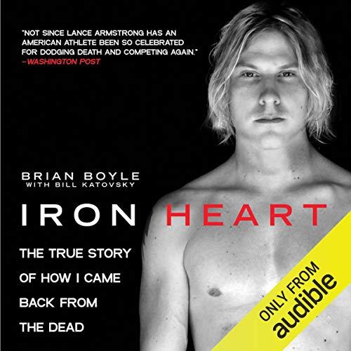 Iron Heart audiobook cover art