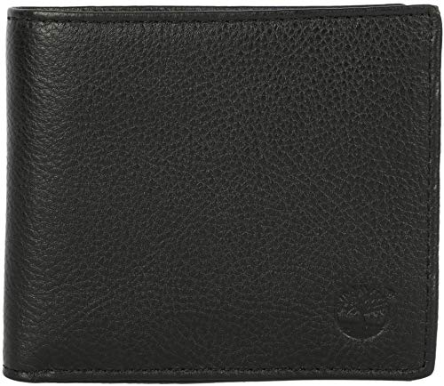 TIMBERLAND BIFOLD WALLET WITH COIN-BL