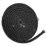 Kamindichtung 3m, ø 18x8mm Flachdichtung Dichtband NICHT selbstklebend für Türdichtung. Passend für verschiedene Spartherm Kamin Modelle