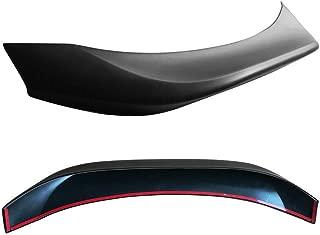 US-Auto Matte Black Trunk Spoiler Wing PP for 13-18 Scion FRS GT86 L Type