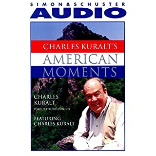 Charles Kuralt's American Moments audiobook cover art