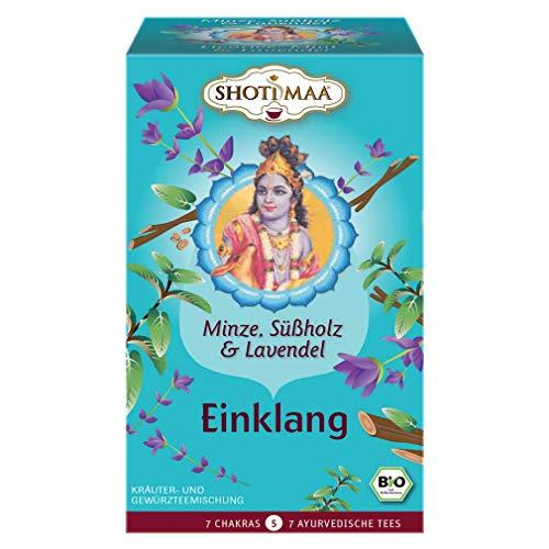 Shoti Maa Bio Einklang - Minze, Süßholz & Lavendel (6 x 32 gr)