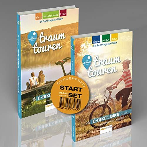 traumtouren E-Bike & Bike Start-Set mit 2 Bänden: 30 perfekte Sonntagstouren für einen schönen Tag auf dem Rad